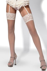 Pończochy Model S804 stockings Ivory
